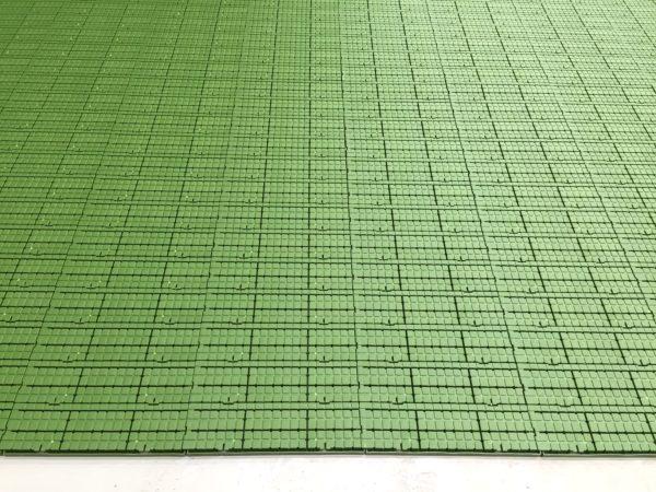 shows green profloor
